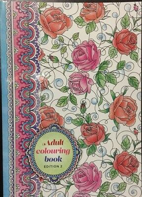 New - Colour Your Days - Colouring Book For Adults - Book 2 - Great Fun