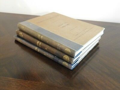 PALESTINE EXPLORATION FUND ANNUALS VOL. I (1911), VOL. II (1912-13) and VOL. IV