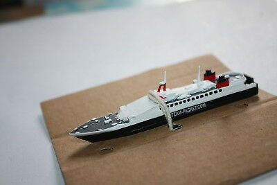 Viking ferry in Isle of Man livery metal painted model in 1250 scale Mountford