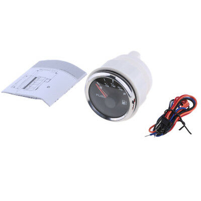 """Auto Motorcycle 2"""" 52mm LED Fuel Level Gauge Meter with Wire Harness"""