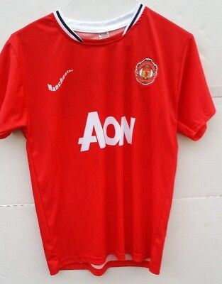 best sneakers ab707 e5134 MUFC MANCHESTER UNITED Football Club Jersey AON Chicharito 14 Red