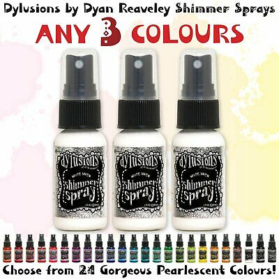 Dylusions Shimmer Sprays - 3 Colours - Choose Your Own