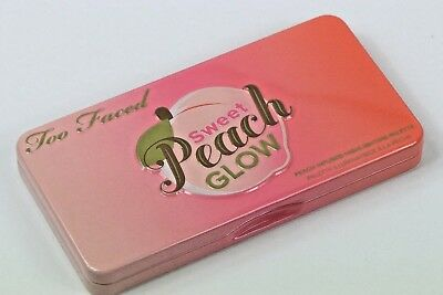 Too Faced Sweet Peach Glow Face Palette Limit. Ed. Only Swatched W/O Box!