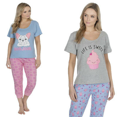 Womens Pjs Cotton Rich Pyjama Sets Prints By Forever Dreaming