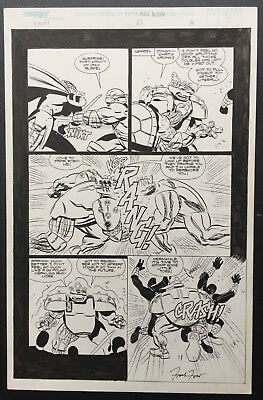 TMNT Frank Fosco original comic artwork art teenage mutant ninja turtles image