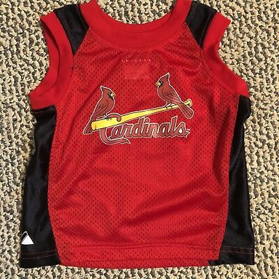 Majestic MLB tank top St. Louis Cardinals sleeveless jersey 12M red baseball