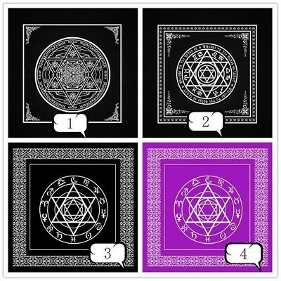 Altar Tarot Card Tablecloth Table Cloth Decor Divination Wicca Tapestry Home New