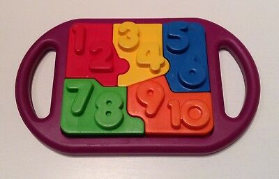 Vintage Tupperware Tuppertoys What's Inside? Color Puzzle