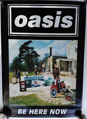 Oasis - Be here Now  (1997) - Poster (64 x 90 cm) UK - immer noch in der Folie !