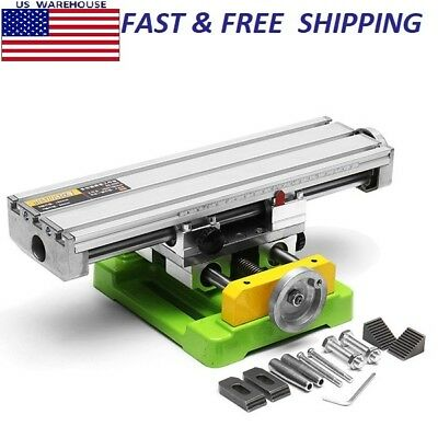 Multifunction Drill Vise Fixture Working Table Mini Precision Milling Machine