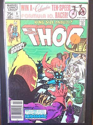 Thor Annual  #9  Sif Hogun Fandral Volstagg  (1981)  Claremont  FN/VF