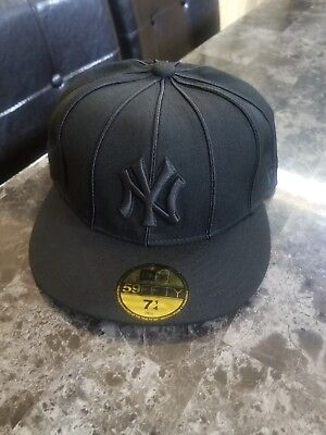 free shipping 71817 a0be5 Hats New Era 59Fifty Hat MLB New York Yankees 12 Pack Mens Black White 5950  Cap ...