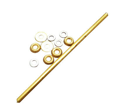 Straight Razor Cup Washers (Brass) perfect for restorations