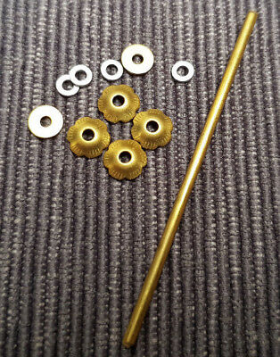 Straight Razor Rosette Washers (Brass) perfect for restorations