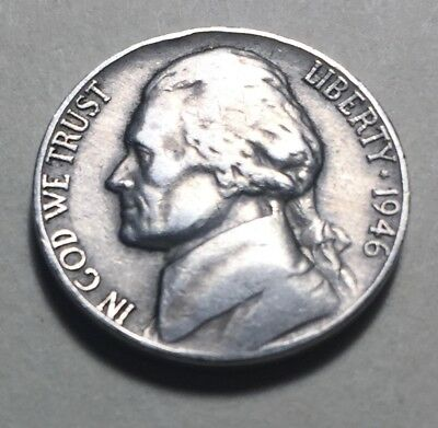 United States 1946 Jefferson Five Cents (Nickel) Coin