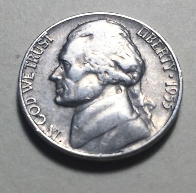 United States 1955 Jefferson Five Cents (Nickel) Coin
