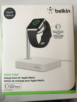 Belkin Valet Charge Dock and Stand with Charger for Apple Watch magnetic charger