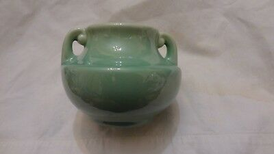 Stangl Pottery Art Deco Vase with Handles SIGNED