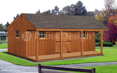 Cottage House Shed Or Cabin 16 X 28 Building With Front