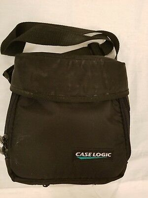 Case Logic Personal Compact Disc CD Player Case Travel Bag With CD Holder Black