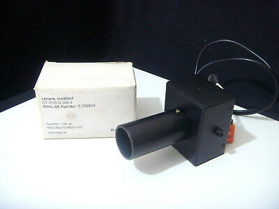 BRUKER DALTON Modified Camera Lens for Scientific Instruments X-Ray Microscope