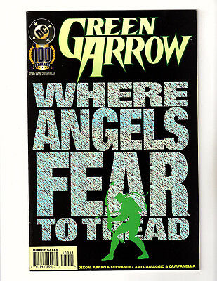 Green Arrow #100 (1995, DC) NM- Foil Cover Oliver Queen Dixon Aparo