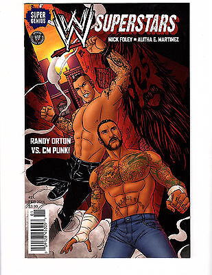 WWE Superstars #2 (2014, Super Genius) FN/VF CM Punk