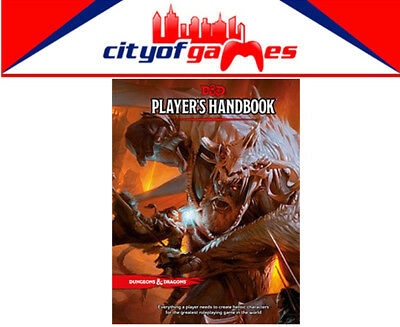D&D Dungeons & Dragons Player's Handbook 5th Edition Brand New In Stock