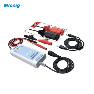 Micsig DP20003 Oscilloscope 100MHz High Voltage Differential Probe Kit DA