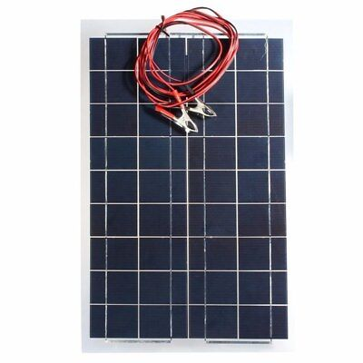 AUSTOCK 30W 12V Semi Flexible Solar Panel Device Battery Charger
