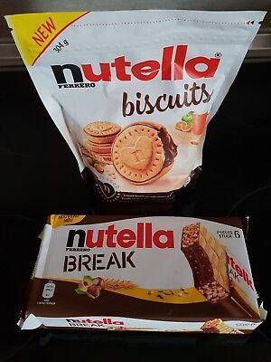 Nutella biscuits / Nutella break / Kinder schoko Bons Crispy / KitKat Ruby