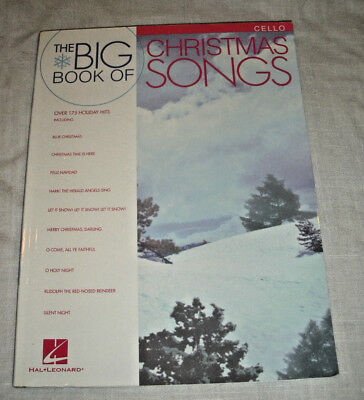 The Big Book Of Christmas Songs For Cello 2006 Paperback Hal Leonard