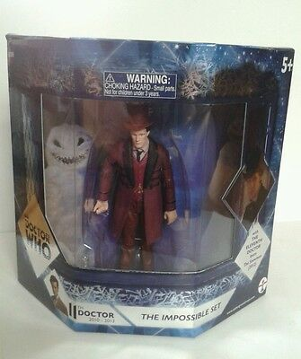 Doctor Dr Who The Impossible Figure Set New Sealed Mint