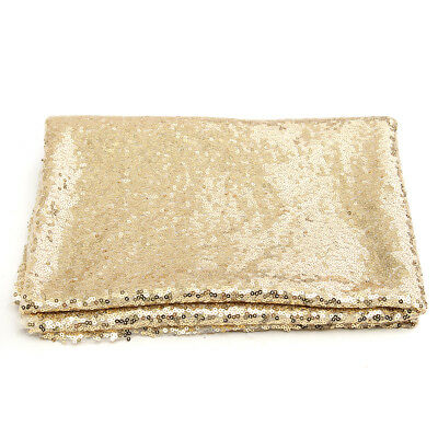 AUSTOCK 4x6FT Champagne Gold Sequin Photo Backdrop Wedding Photo Booth Backgroun