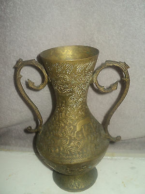 Very Rare antique/VINTAGE with nice Pattern VASE^^