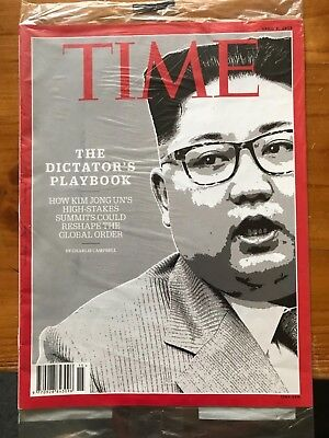 TIME Magazine Kim Jong Un The Dictator's Playbook Charlie Campbell Tracy K.Smith
