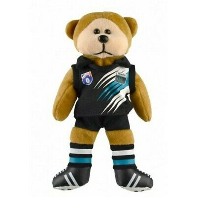 Port Adelaide Power Heritage Player Bear Official AFL Beanie Kid 21cm