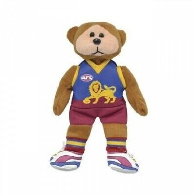 Mark the Brisbane Lions Bear Official AFL Beanie Kid Collectable