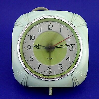 Vintage Smiths Sectric Art Deco Bakelite Electric Wall Clock - Working