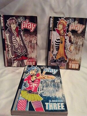 Re: Play - Manga - Vol 1-3 Complete Collection