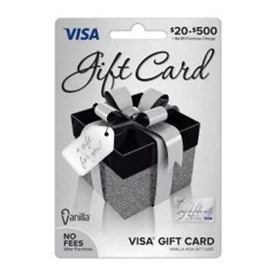 $300 VISA CARD ready to use activated gift no fees FREE SHIPPING