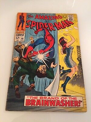 Amazing Spider-Man #59 Comic Silver Age 1st Mary Jane Cover 1968 Kingpin App