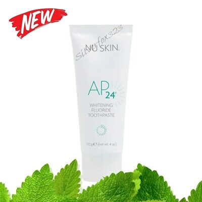 Nu Skin AP-24 NuSkin AP24 Whitening Fluoride Toothpaste AUTHENTIC 4oz 04/2021