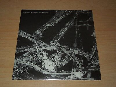 """Current 93, Nurse withe Wound, 7"""" No Hiding from the Blackbird / The Burial of"""