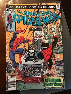 The Amazing Spider-Man #162 (Nov 1976, Marvel) - Punisher!!!