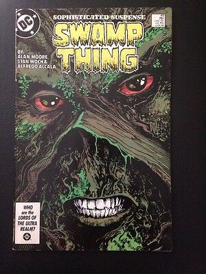 SWAMP THING #49 1st Cameo Appearance JUSTICE LEAGUE DARK