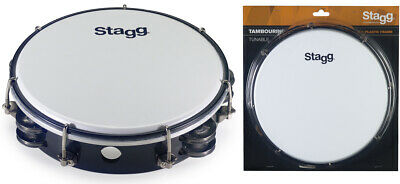 Stagg TAB-208P/BK 8 Zoll stimmbares Kunststoff Tambourin