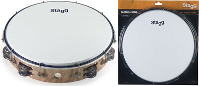 Stagg TAB-212P/WD 12 Zoll stimmbares Kunststoff Tambourin