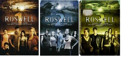 ROSWELL (1999-2002) Complete Series Seasons 1-3 DVD Bundle NEW Free Ship