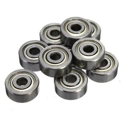 100pcs 623ZZ Ball Bearing 3x10x4mm Stainless Miniature Bearings Shielded Greased